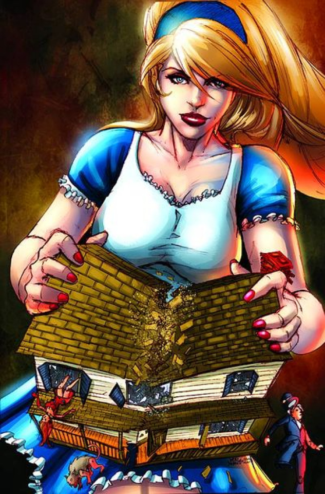 Grimm Fairy Tales: Wonderland Annual 2011 (Chen Cover)