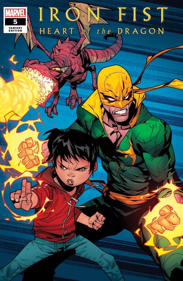Iron Fist: Heart of the Dragon #5 (Petrovich Cover)
