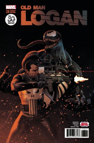 Old Man Logan #38 (Smallwood Venom 30th Anniversary Cover)