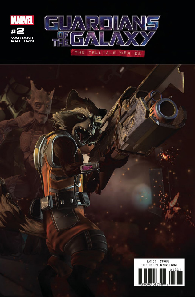 Guardians of the Galaxy: The Telltale Series #2 (Video Game Cover)