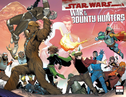Star Wars: War of the Bounty Hunters #1 (Camuncoli Cover)
