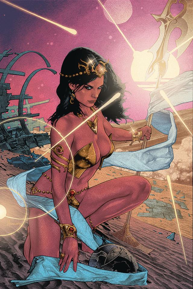 Dejah Thoris #4 (Anacleto Virgin Cover)