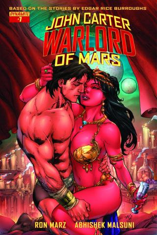 John Carter: Warlord of Mars #7 (Benes Cover)