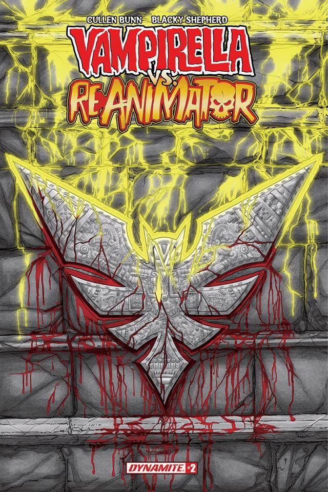 Vampirella vs. Reanimator #2 (Shepherd Cover)