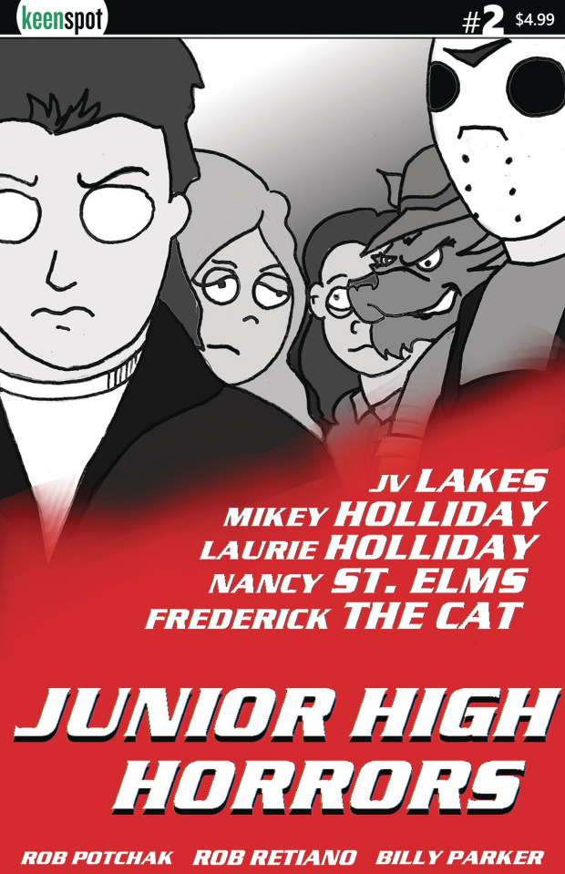 Junior High Horrors #2 (Lethal Weapon Parody Cover)