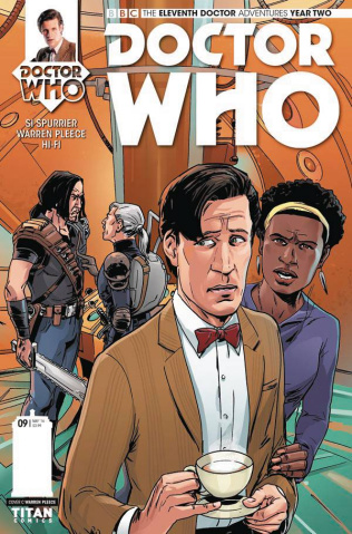 Doctor Who: New Adventures with the Eleventh Doctor, Year Two #9 (Pleece Cover)