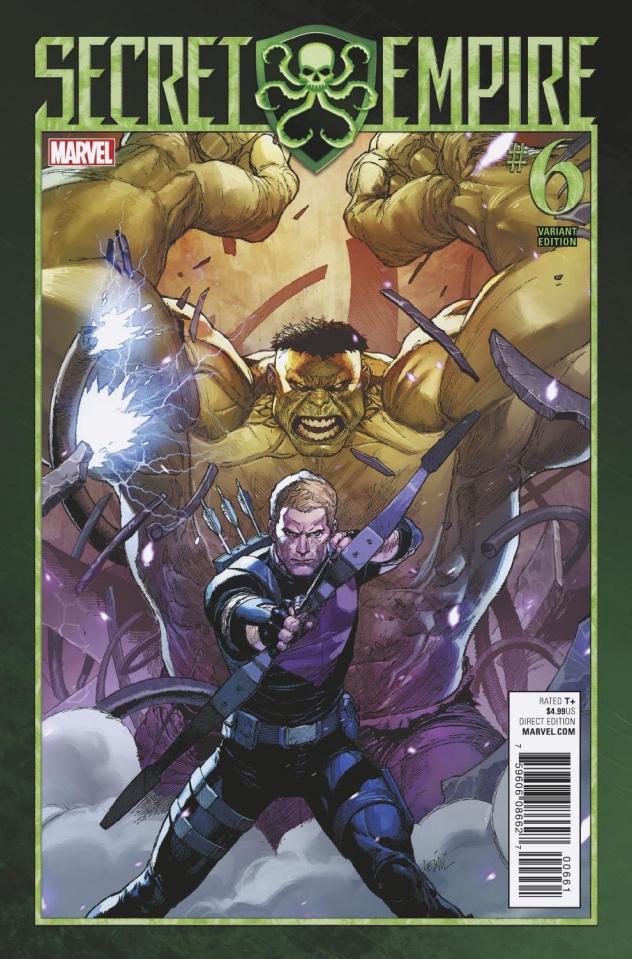 Secret Empire #6 (Yu Cover)