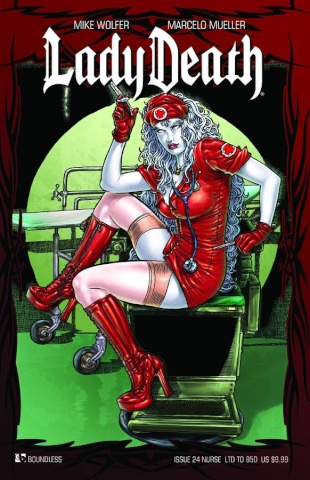 Lady Death #24 (Nurse Cover)
