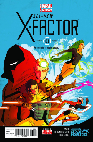 All-New X-Factor #1 (2nd Printing)