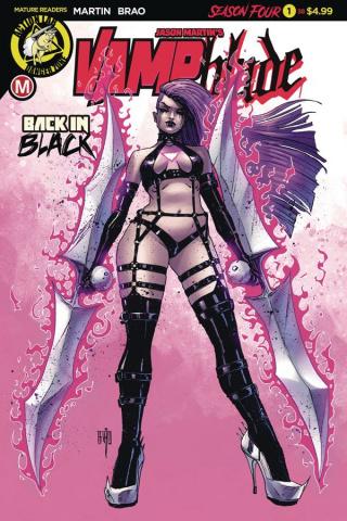 Vampblade, Season Four #1 (Brao Cover)