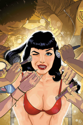 Bettie Page #5 (Kano Virgin Cover)