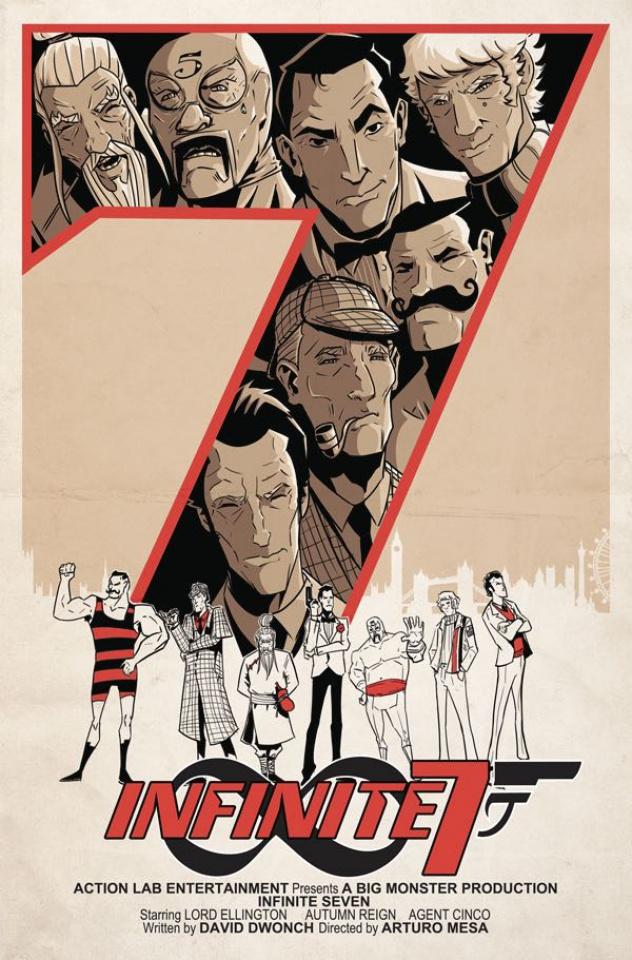 Infinite Seven #7 (Mesa Cover)