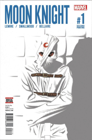 Moon Knight #1 (Smallwood 2nd Printing)
