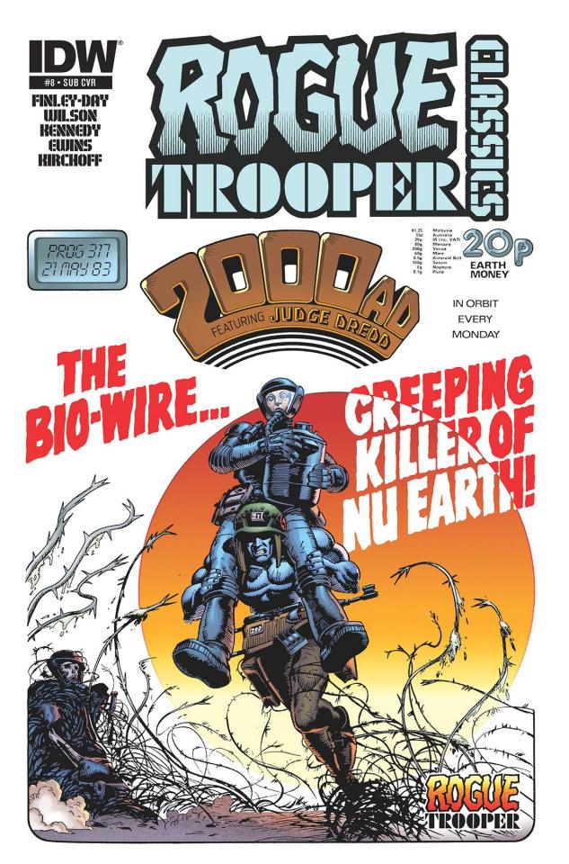Rogue Trooper Classics #8 (Subscription Cover)