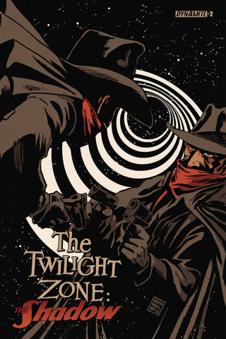 The Twilight Zone: The Shadow #2 (Francavilla Cover)