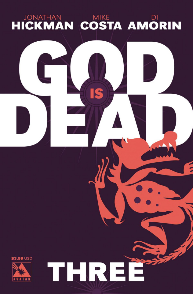 God Is Dead #3 (Iconic Cover)