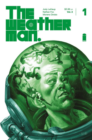 The Weatherman #1 (10 Copy Fegredo Cover)