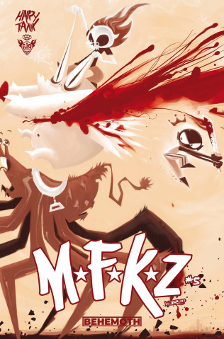 MFKZ #5 (Tragnark Cover)