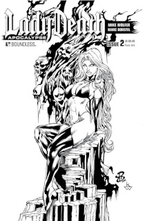 Lady Death: Apocalypse #2 (Premium Pure Art Cover)