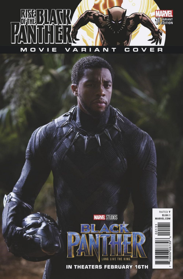 Rise of the Black Panther #1 (Movie Cover)