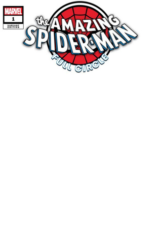 The Amazing Spider-Man: Full Circle #1 (Blank Cover)