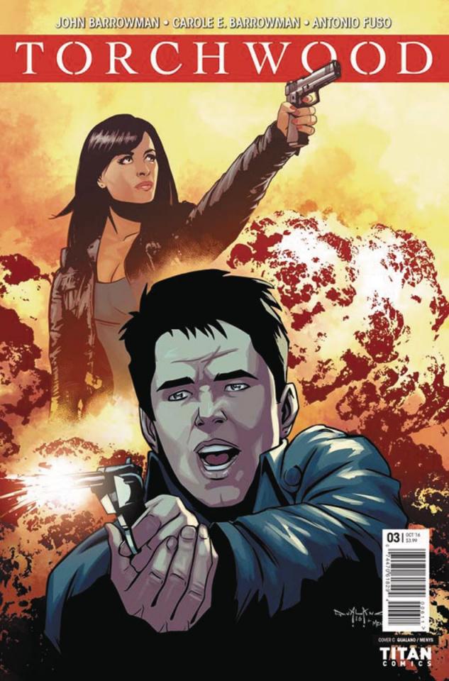 Torchwood #3 (Qualano Cover)