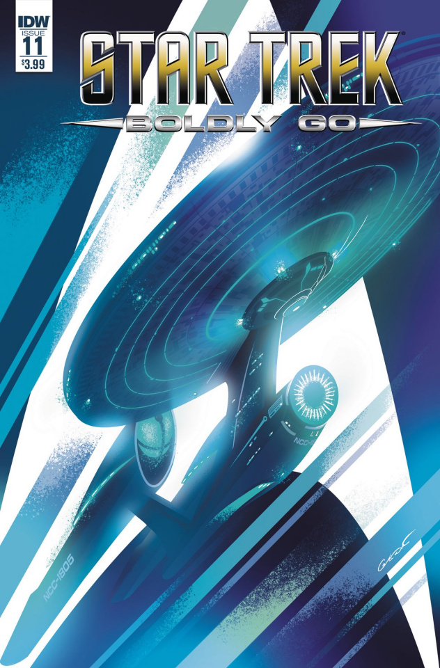 Star Trek: Boldly Go #11 (Caltsoudas Cover)