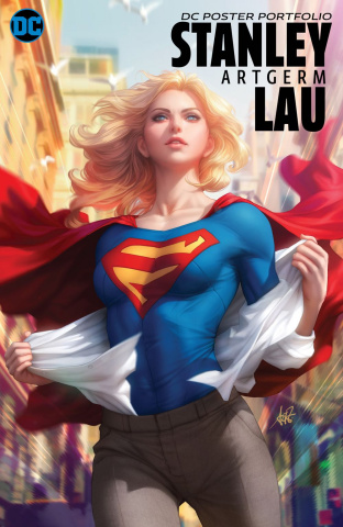 "DC Poster Portfolio: Stanley ""Artgerm"" Lau Vol. 1"