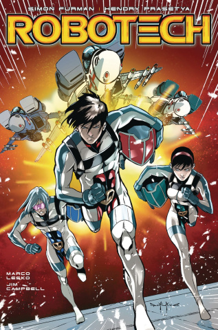 Robotech #20 (Qualano Cover)
