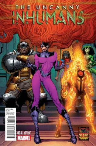 The Uncanny Inhumans #1 (Art Adams Inhuman 50th Anniversary Cover)