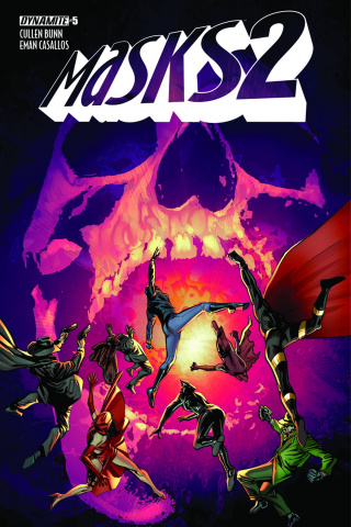 Masks 2 #5 (Guice Cover)