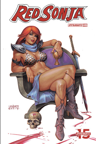 Red Sonja #5 (Linsner Cover)