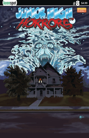 Junior High Horrors #8 (Fright Night Parody Cover)