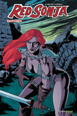 Red Sonja #8 (Groupees Cover)