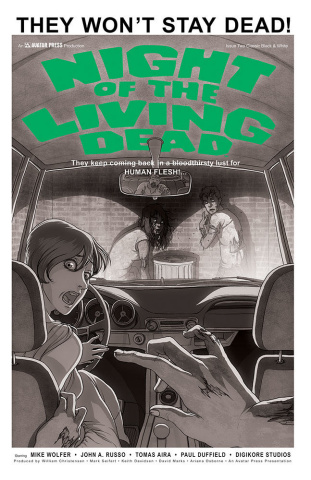Night of the Living Dead #2 (Classic Cover)