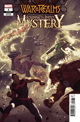 The War of the Realms: Journey Into Mystery #1 (Parel Cover)