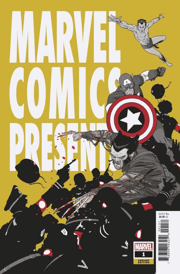Marvel Comics Presents #1 (Martin Cover)