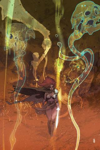Killing Red Sonja #3 (Ward Virgin Cover)