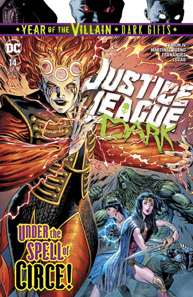 Justice League Dark #14 (Dark Gifts Cover)