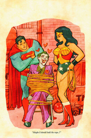 Superman / Wonder Woman #18 (The Joker Variant)