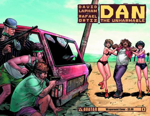 Dan the Unharmable #8 (Wrap Cover)