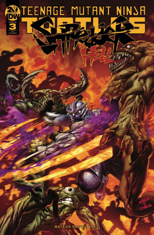 Teenage Mutant Ninja Turtles: Shredder in Hell #3 (10 Copy Gedeon Cover)