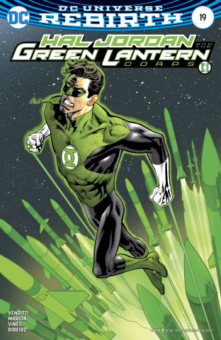 Hal Jordan and The Green Lantern Corps #19 (Variant Cover)