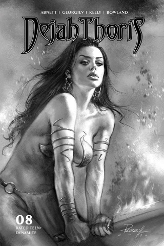 Dejah Thoris #8 (10 Copy Parrillo B&W Cover)