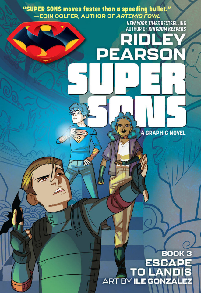 Super Sons Book 3: Escape to Landis