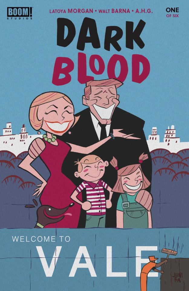Dark Blood #1 (Ba Cover)