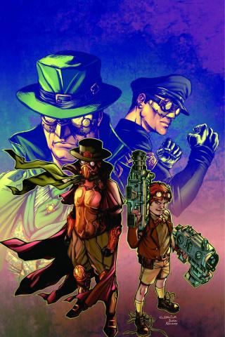 Legenderry: Green Hornet #5 (Davila Virgin Cover)