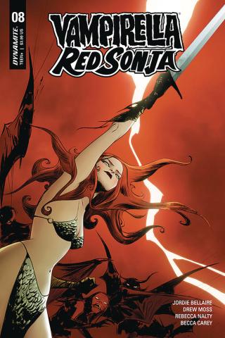 Vampirella / Red Sonja #8 (Lee Cover)