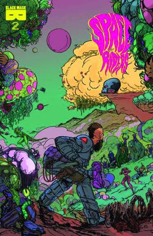 Space Riders #2 (2nd Printing)