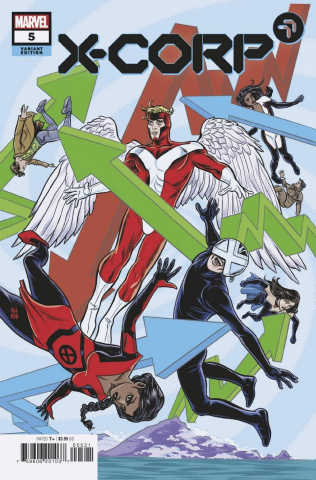 X-Corp #5 (Allred Cover)